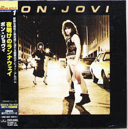 JAPANESE MINI-LP CARDBOARD SLEEVE